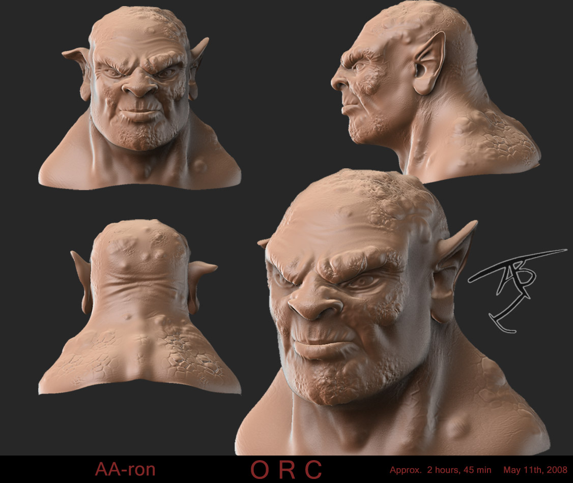 Orc - Digital sculpt