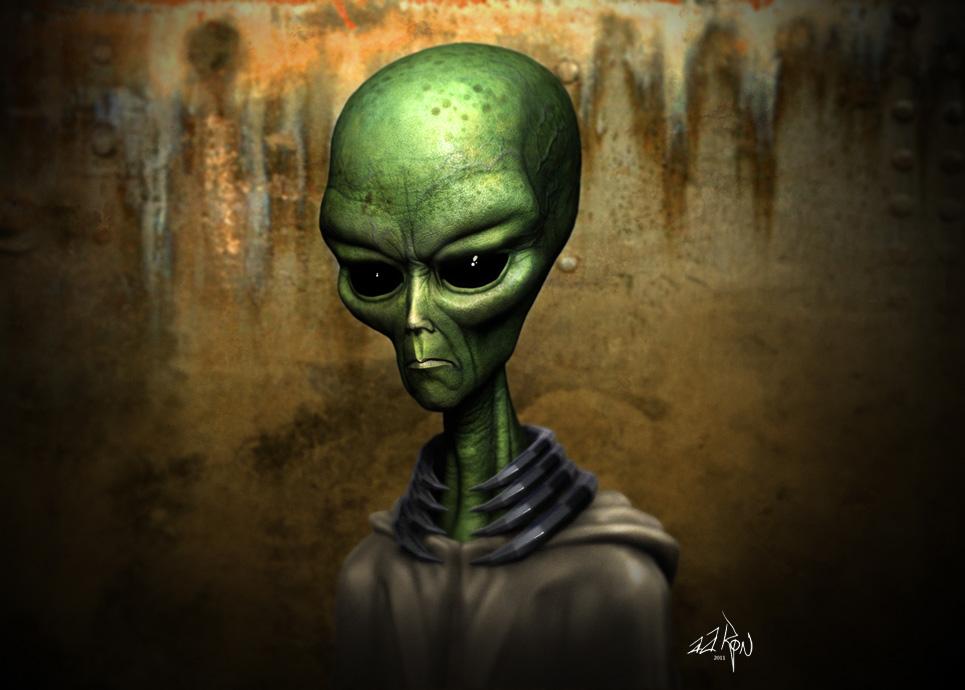 Alien - ZBrush comp