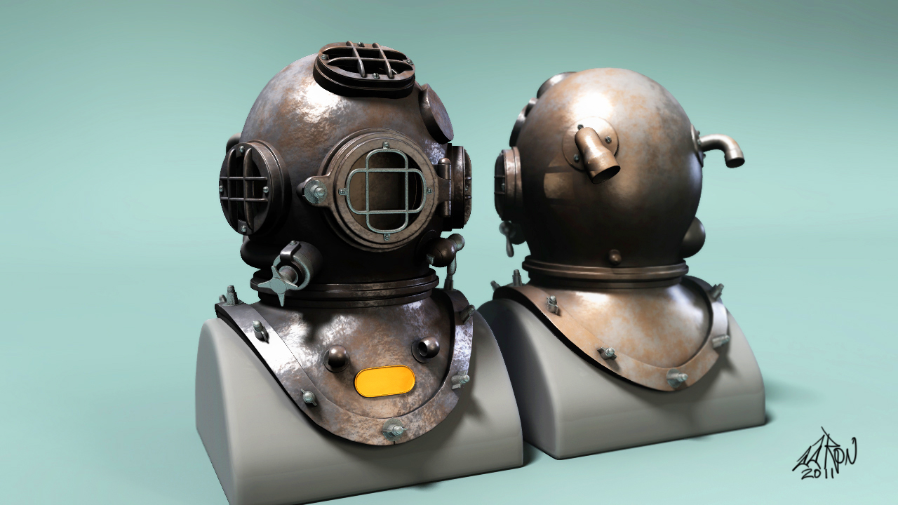 Mark V Dive Helmet