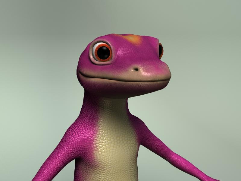Gecko - close up