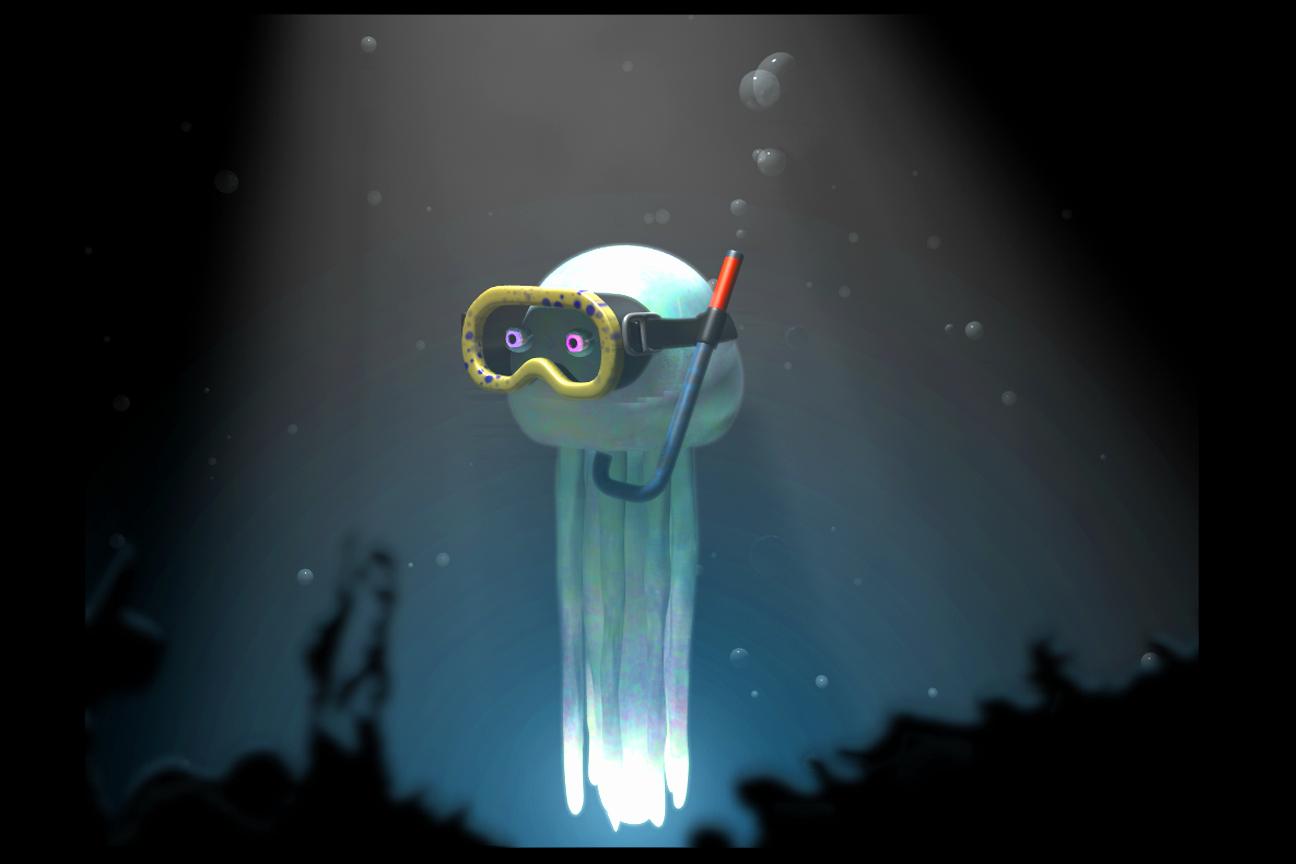 Jellyfish Goggles